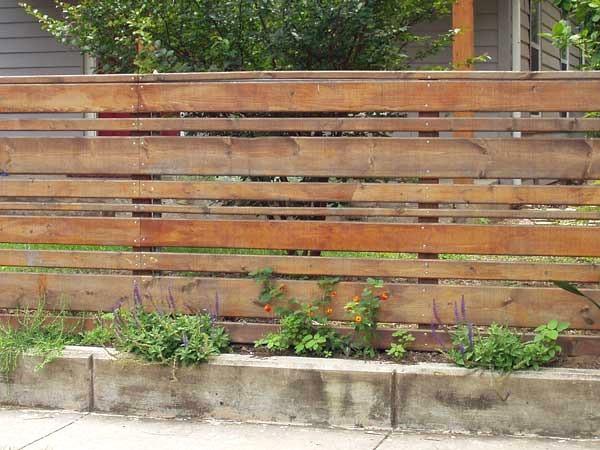 Recinzione In Legno Per Giardino Fai Da Te.Recinzioni Da Esterno Provincia Di Modena Il Girasole Snc Con